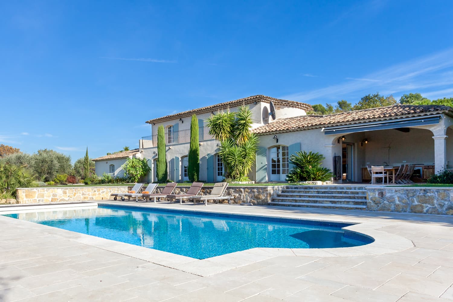 Vacation villa in Provence, Côte d'Azur with private swimming pool | Les Grivarelles