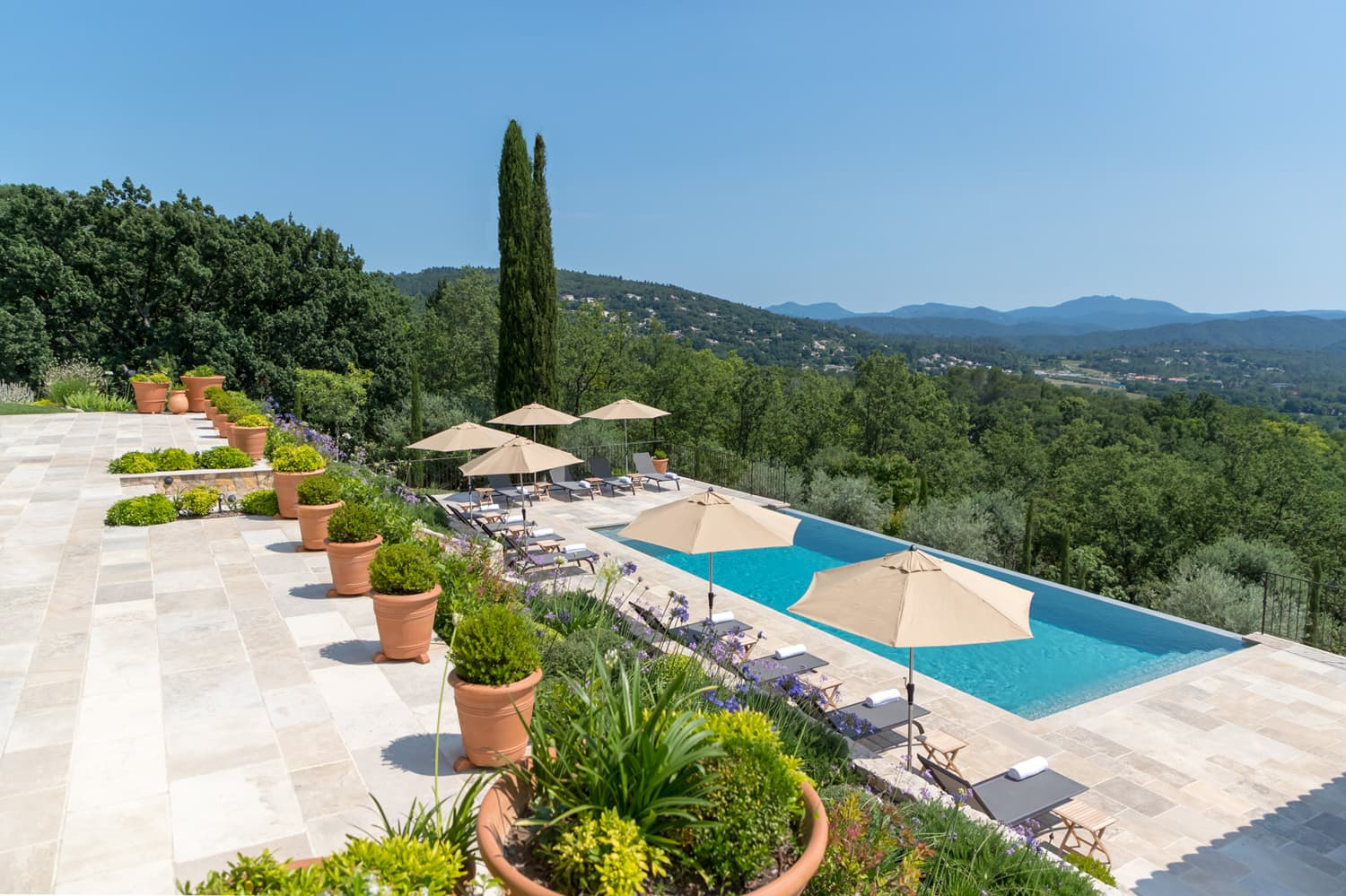 Holiday home in Provence, Côte d'Azur with private swimming pool | Le Grand Mas de Valcros