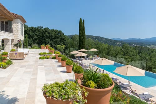 Provençal holiday rental home with private pool and views | Le Grand Mas de Valcros