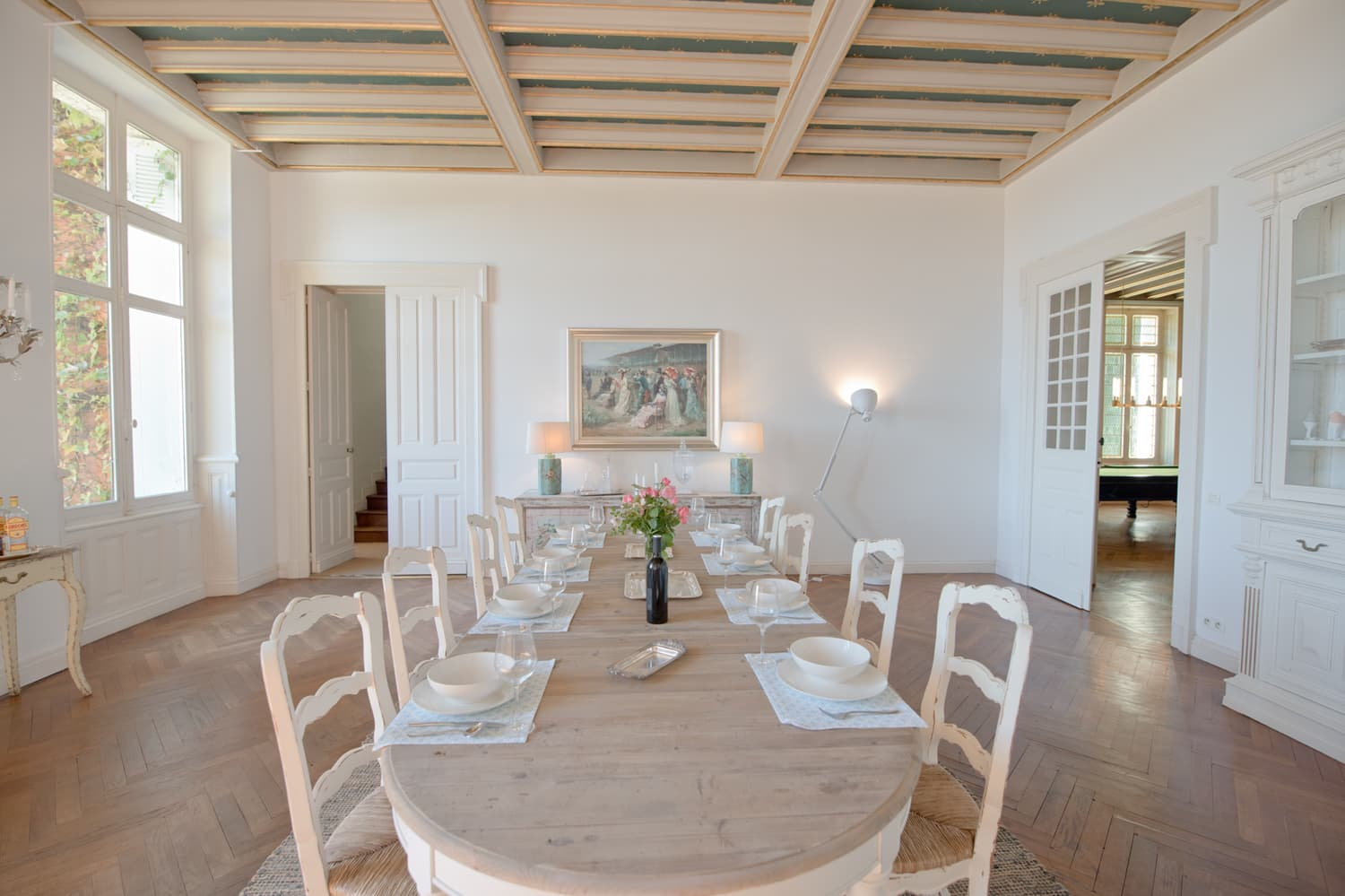 Holiday home with private pool for large groups | Clairefontaine