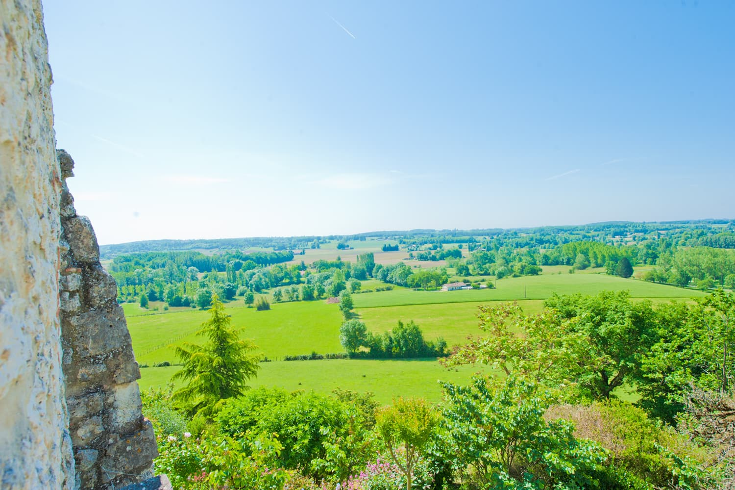 Dordogne countryside views