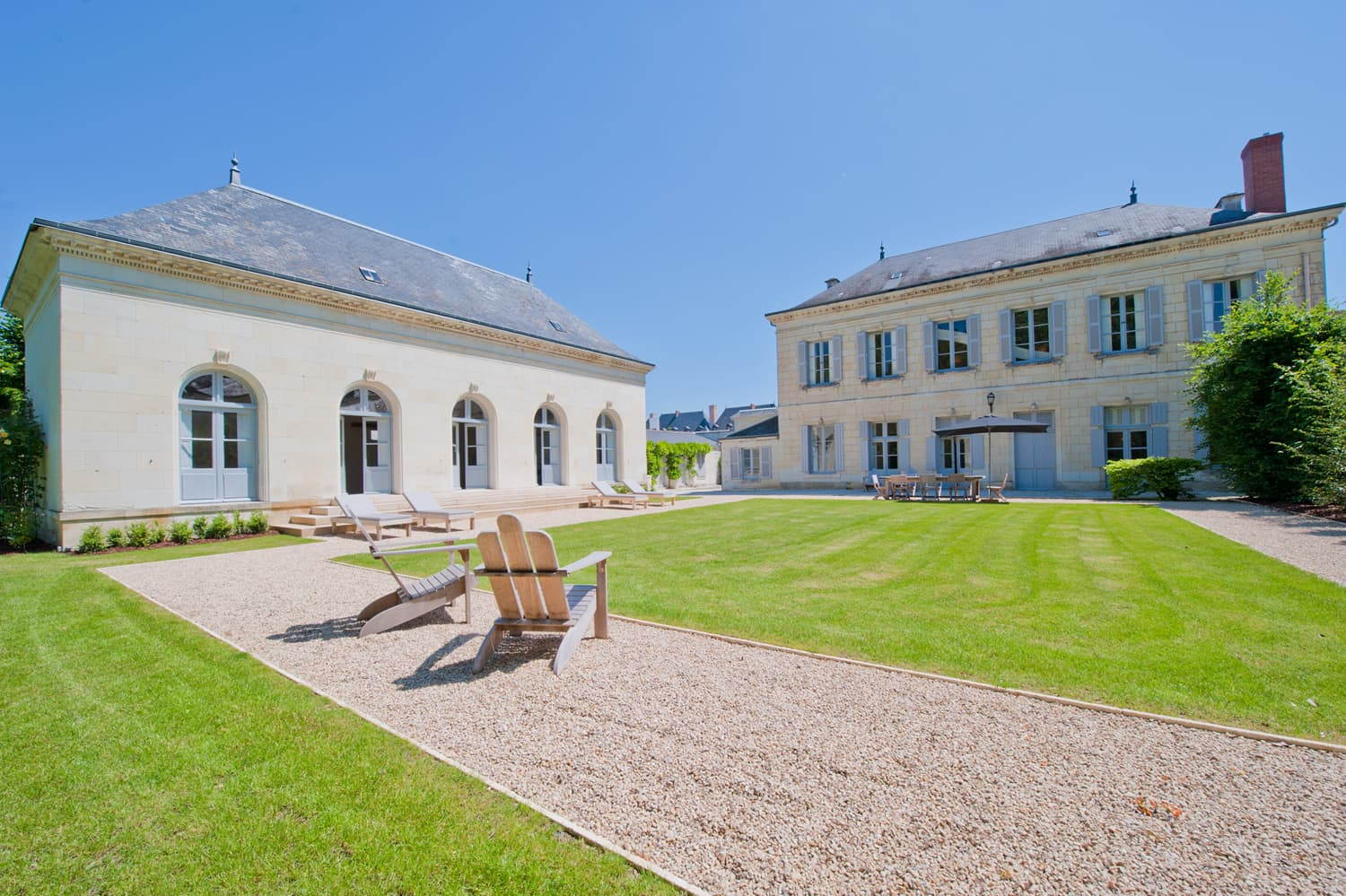 Self-catering town house near Richelieu, Centre-Val de Loire
