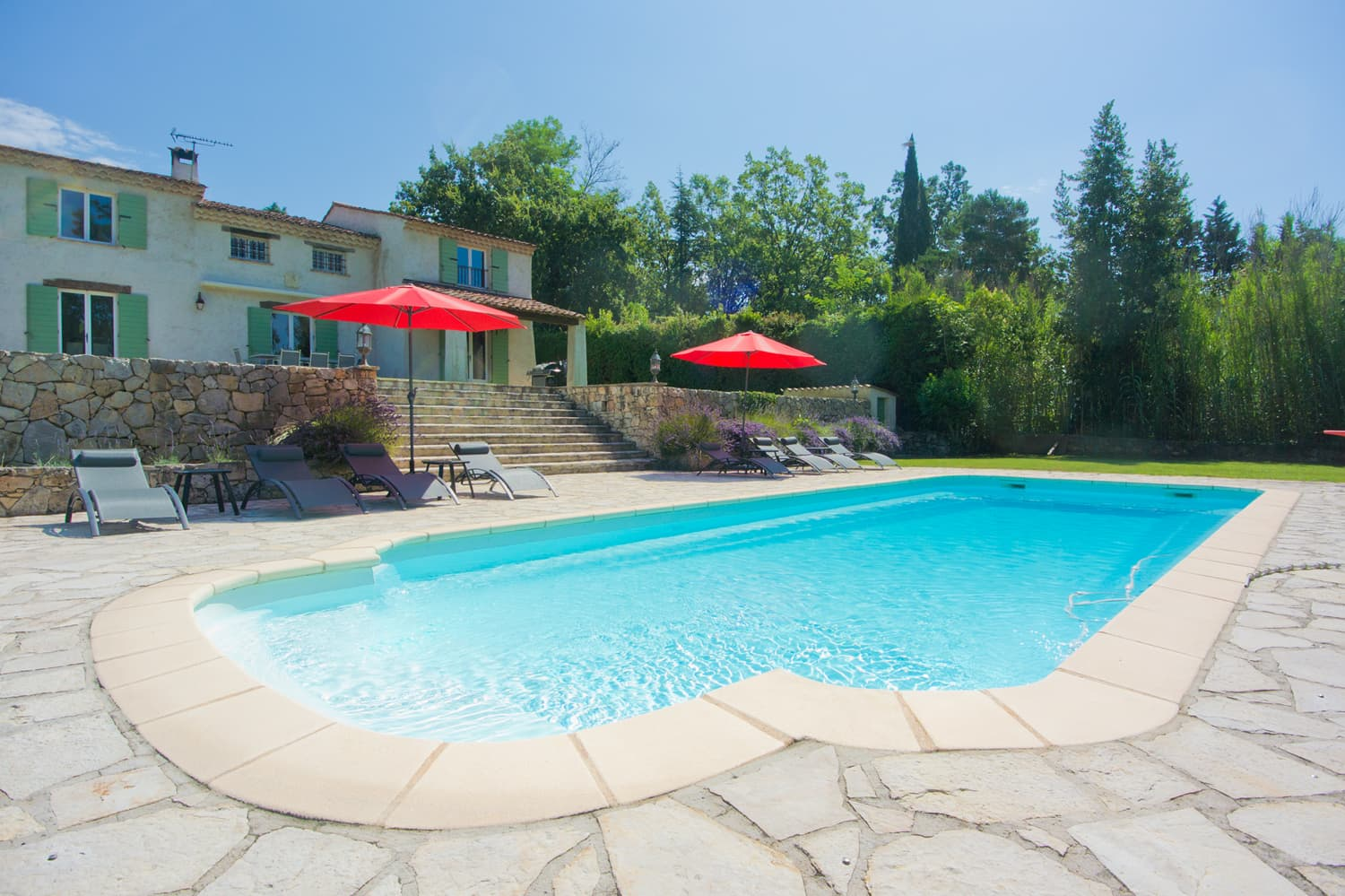 Holiday home in Provence with private pool with terrace