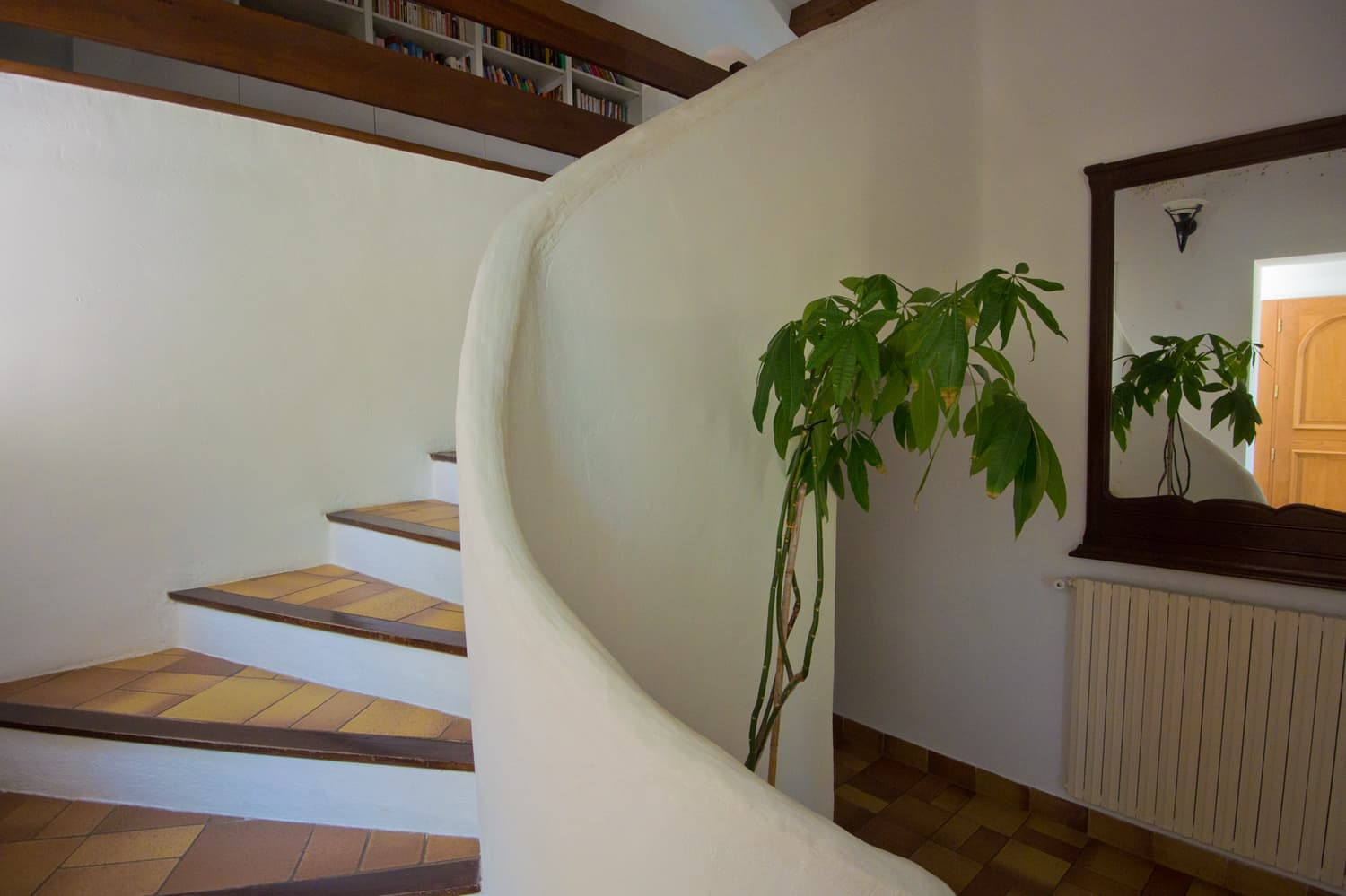 Staircase in Provence holiday home