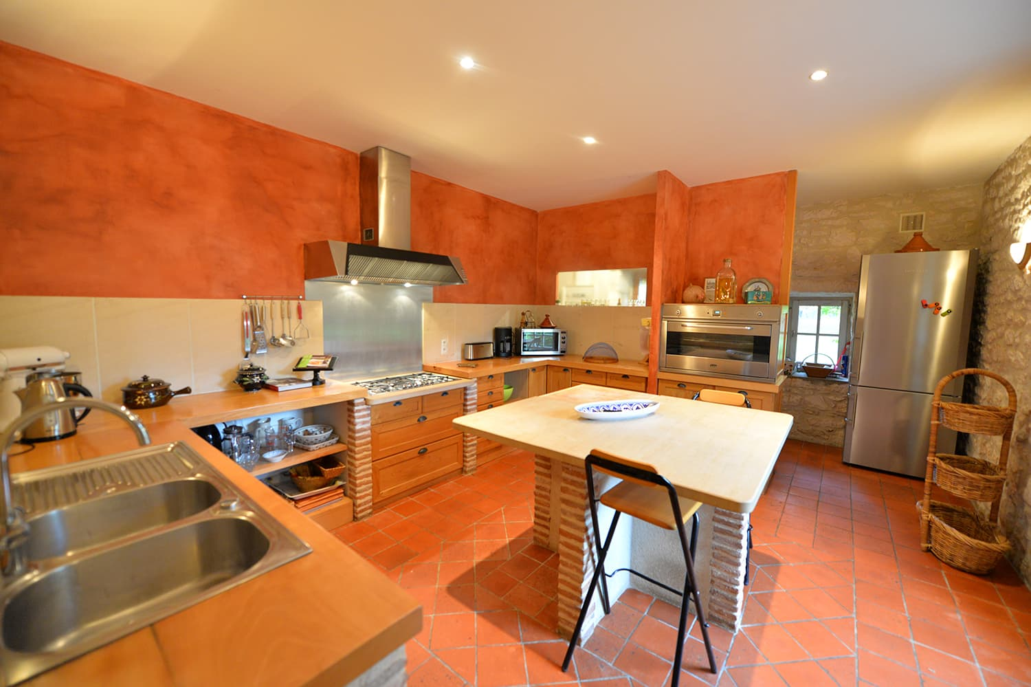 Kitchen in Carlux holiday home
