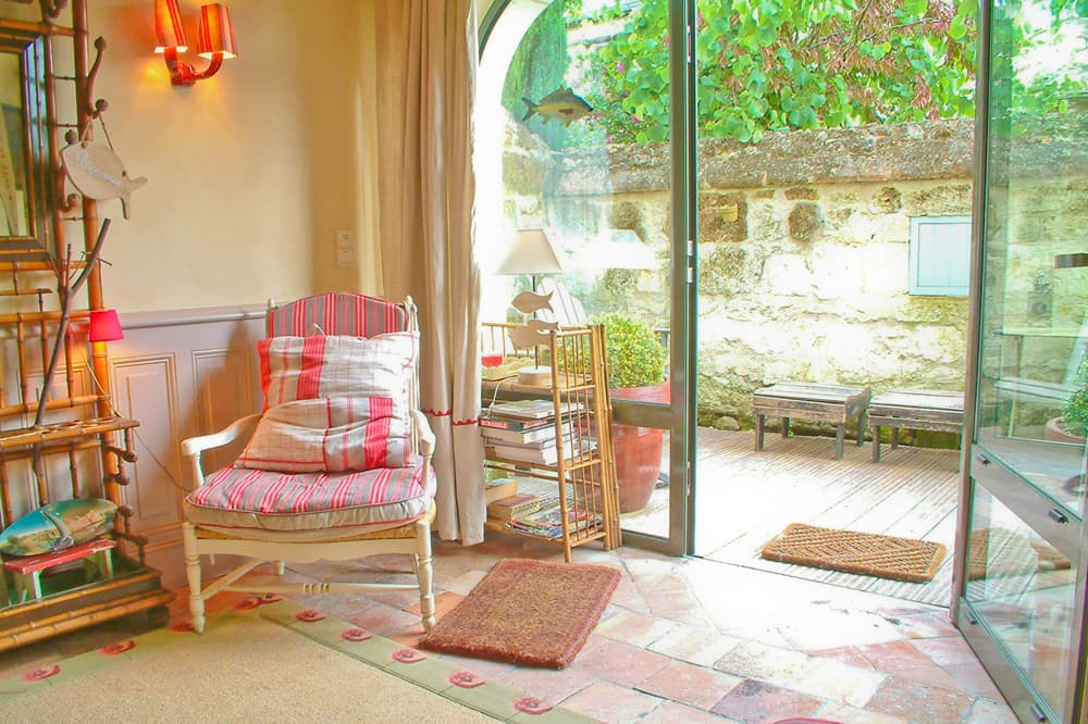 Self-catering apartment near Montsoreau, Pays de la Loire