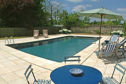Private pool near Varennes-sur-Loire, Pays de la Loire