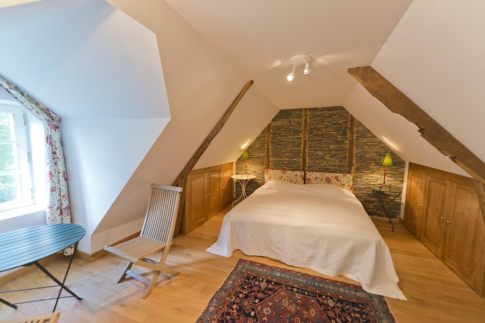 Bedroom in Loire rental home