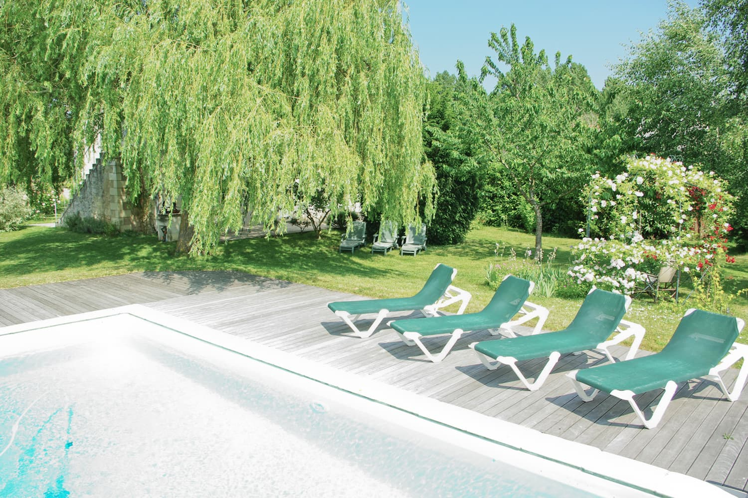 Private, heated pool, Loire