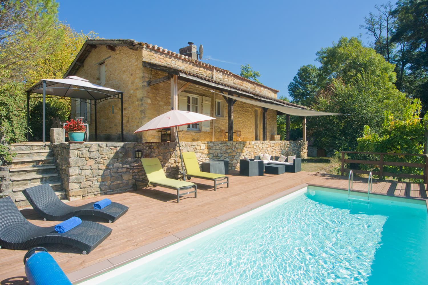 Holiday home in Lot-et-Garonne with private pool