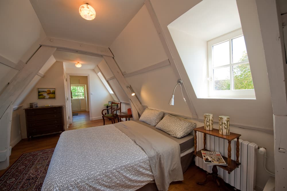Bedroom in Dordogne holiday accommodation