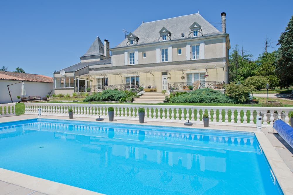 Holiday home in West France with private pool