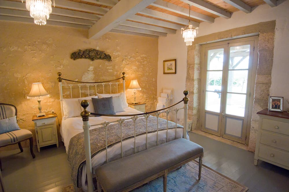Bedroom in Occitanie holiday home