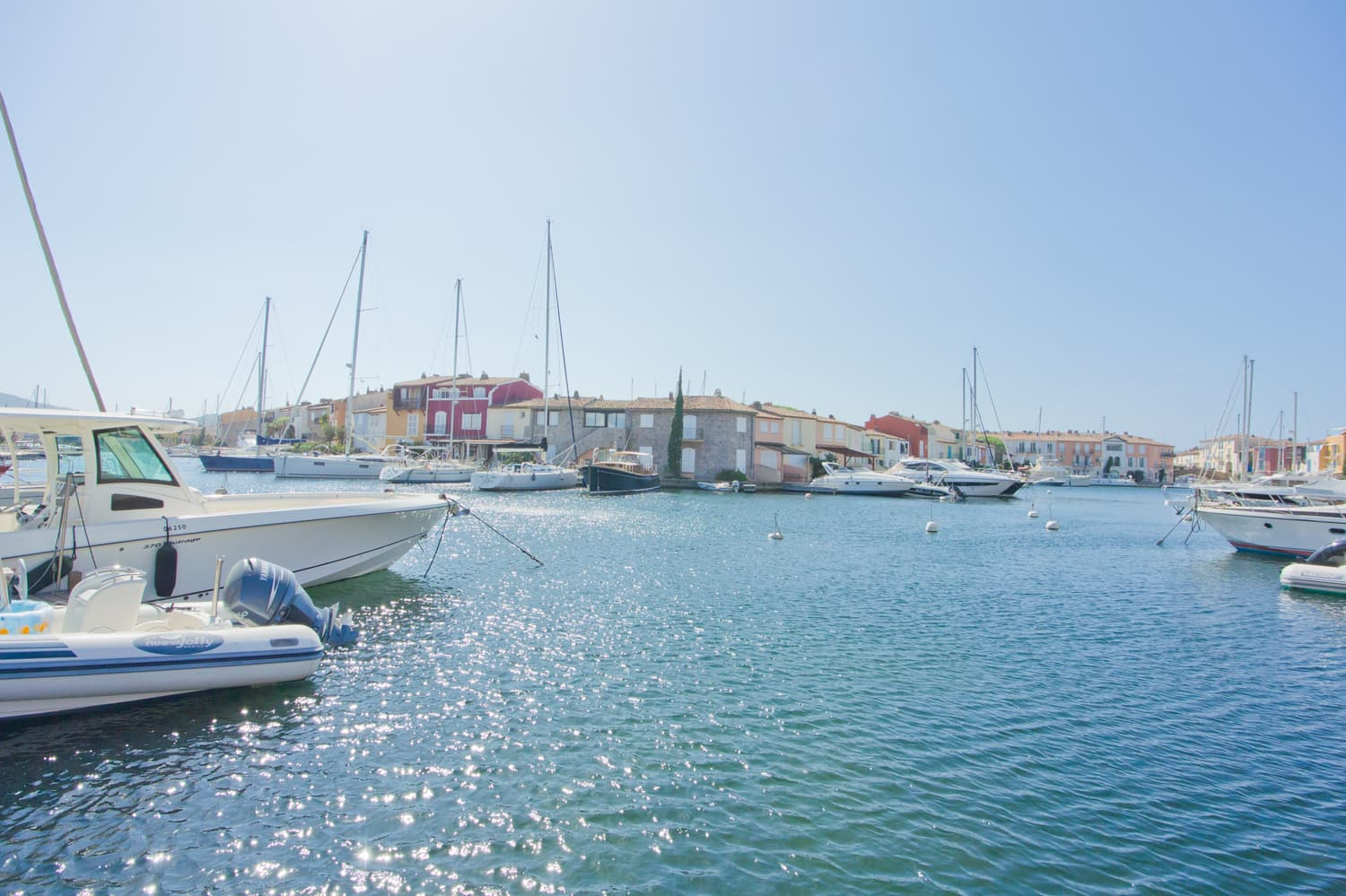 Marina in Port Grimaud