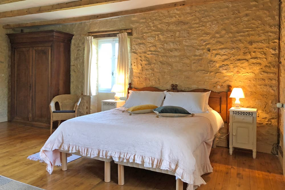Bedroom in Dordogne holiday home