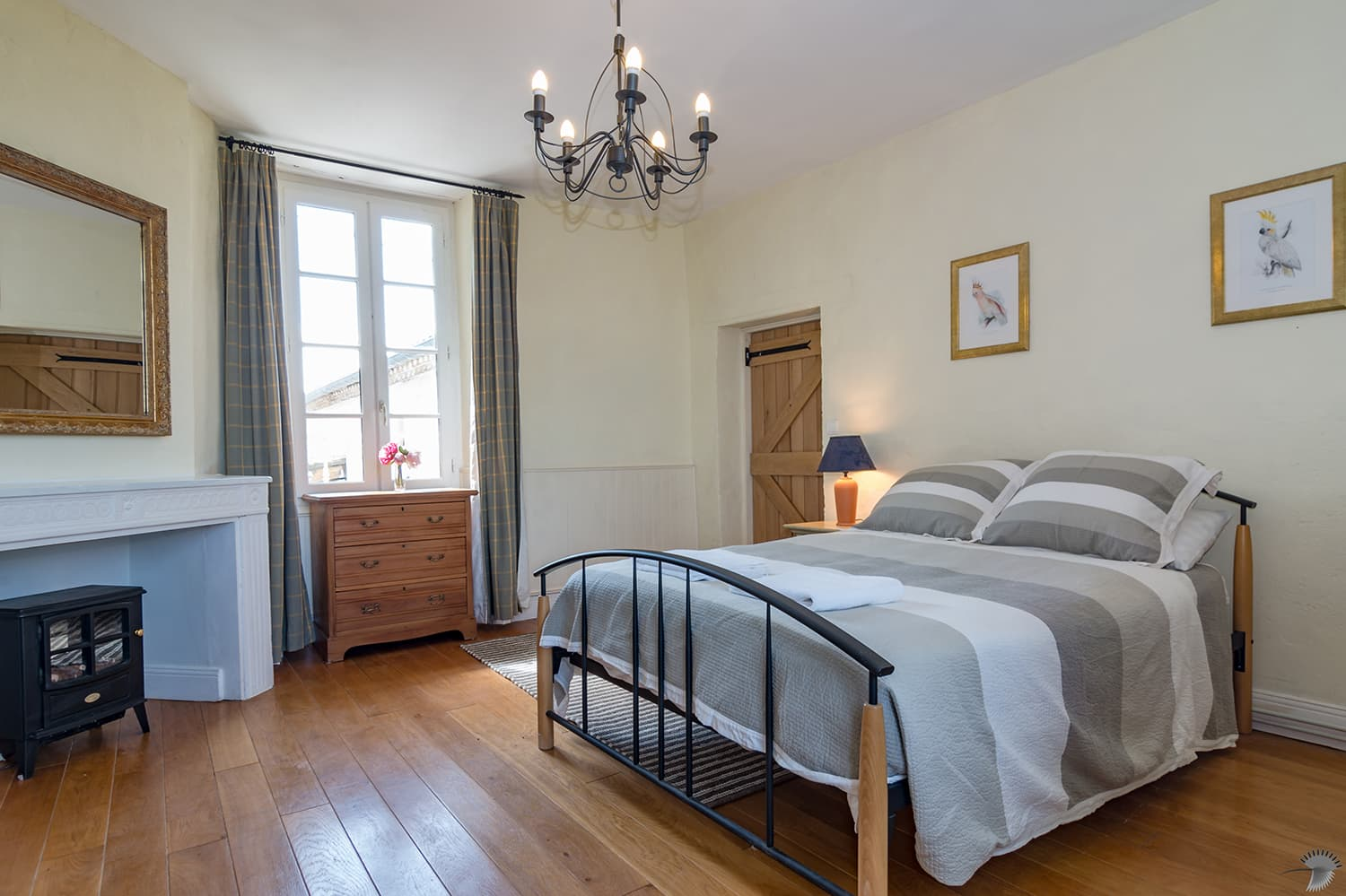 Bedroom in Nouvelle-Aquitaine holiday home