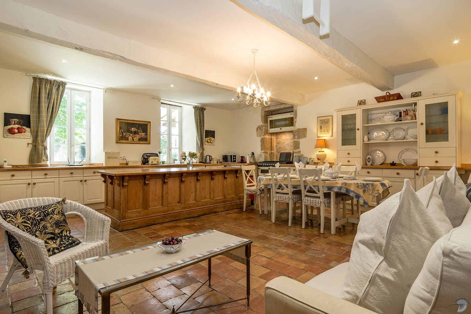 Kitchen in Nouvelle-Aquitaine holiday home