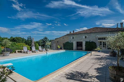 Holiday home in Nouvelle-Aquitaine with private pool