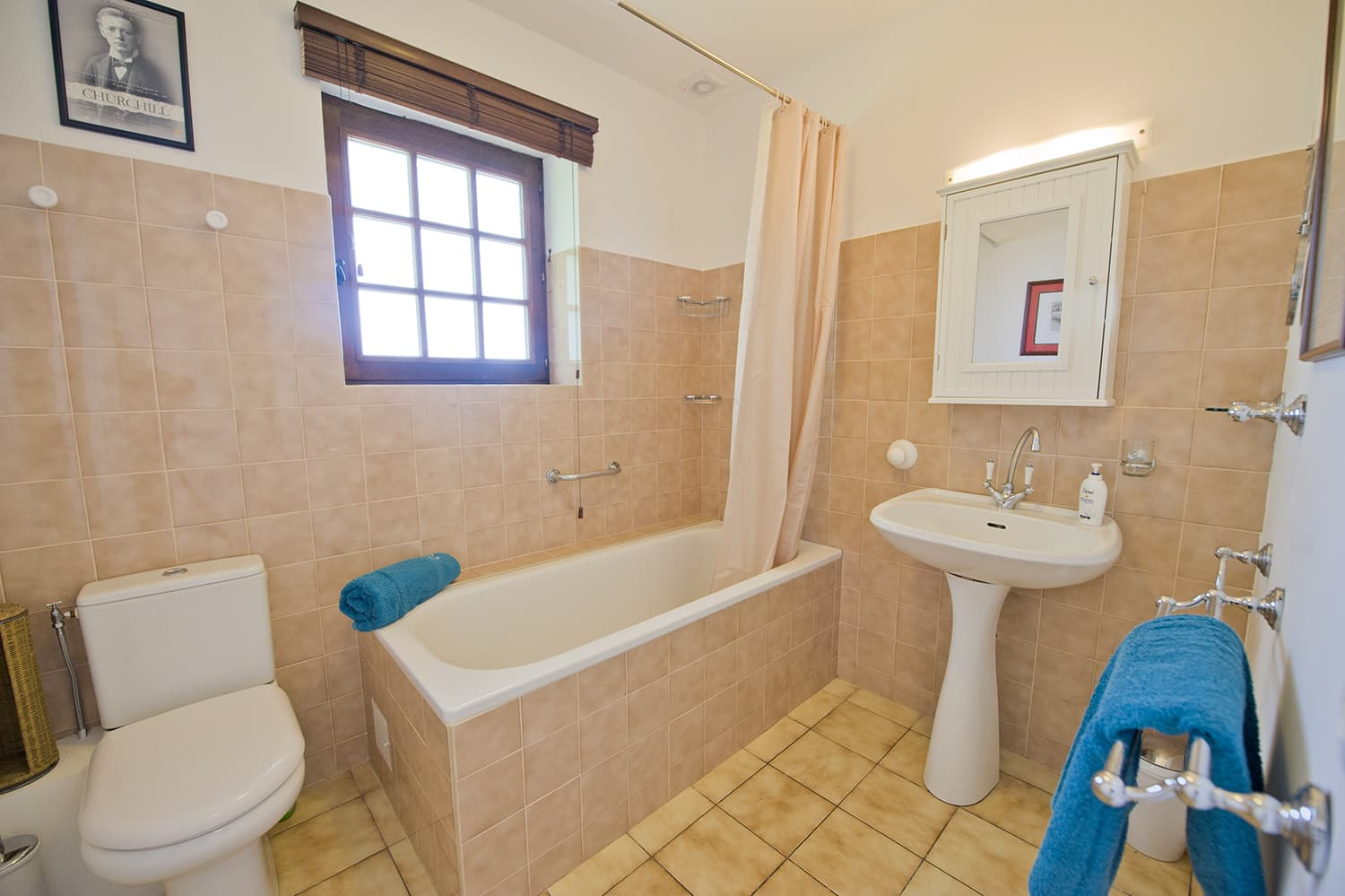 Bathroom in holiday accommodation