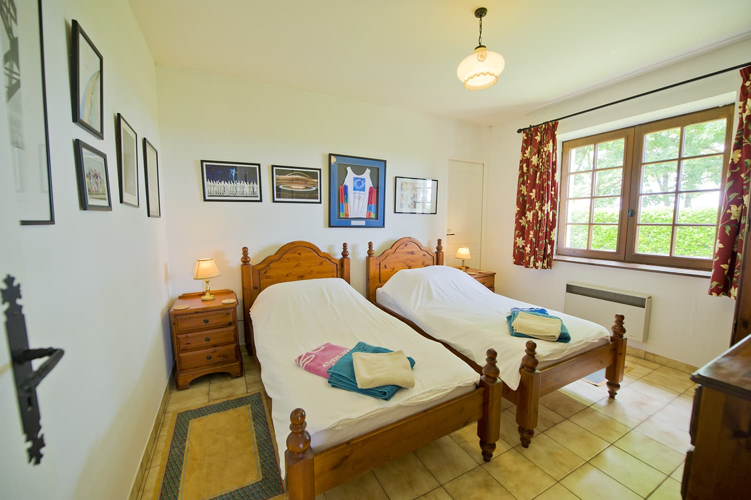 Bedroom in holiday accommodation