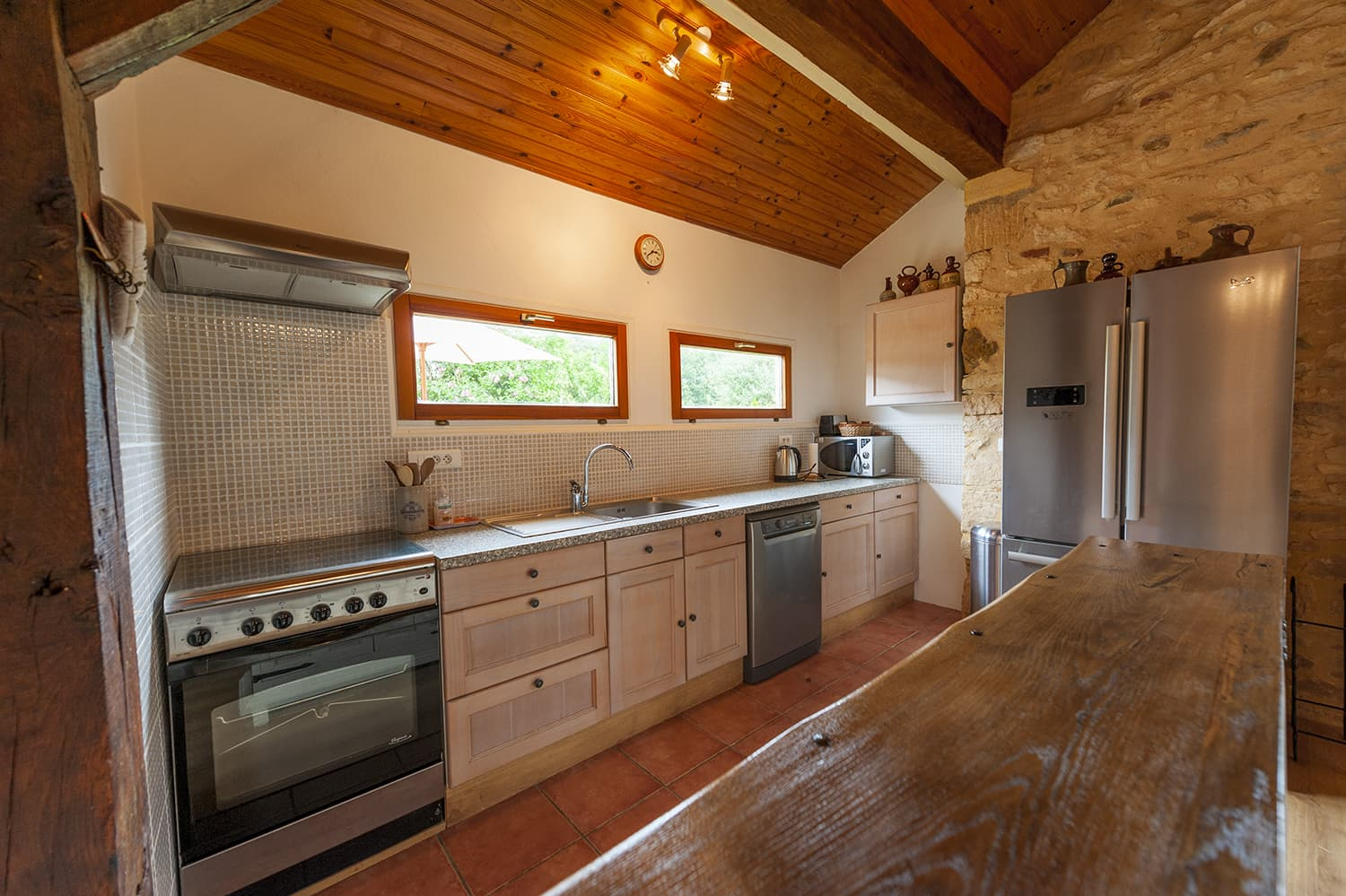 Kitchen in Marminiac holiday home