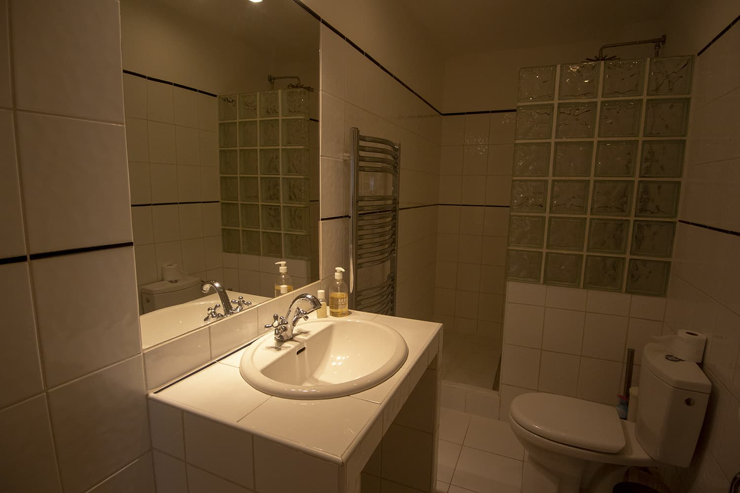 Bathroom in Occitanie holiday home