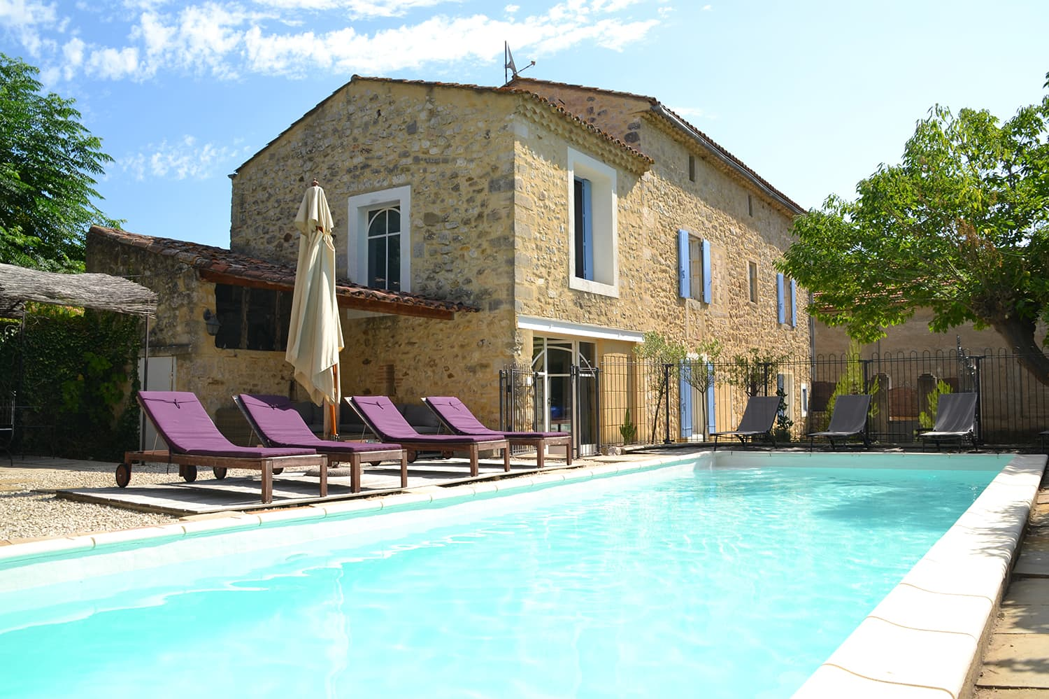 Holiday home with private pool in Occitanie