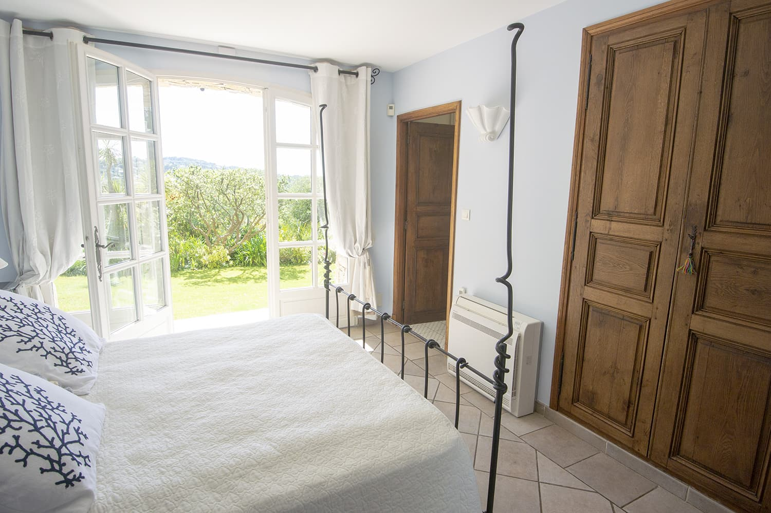 Bedroom in Valbonne, Provence-Alpes-Côte d'Azur holiday villa