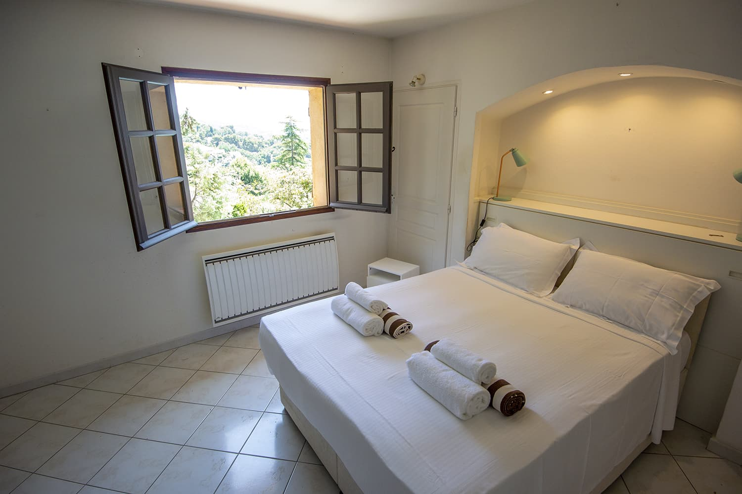 Bedroom in Mougins, Provence-Alpes-Côte d'Azur