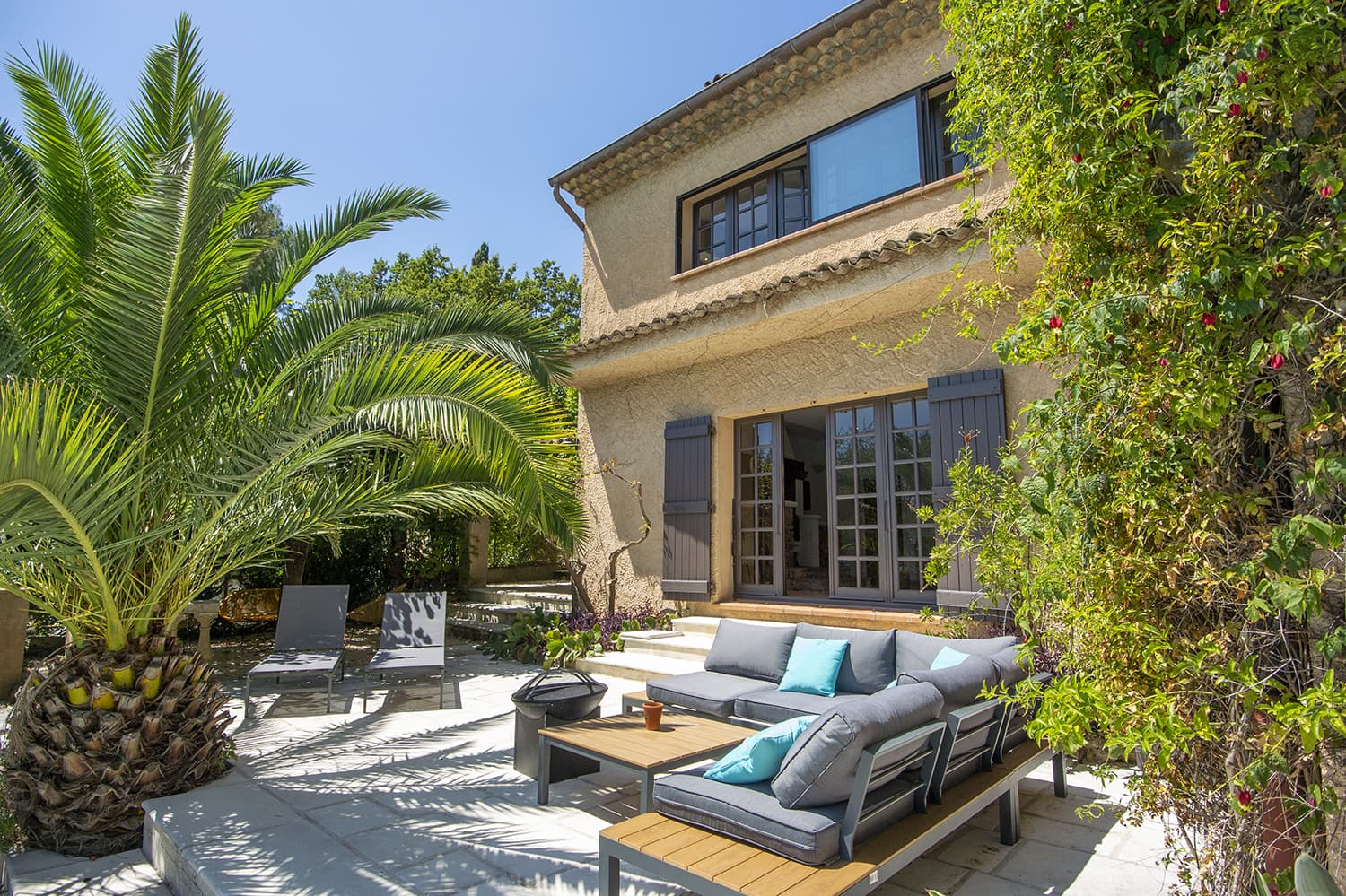 Holiday home with private pool in Mougins, Provence-Alpes-Côte d'Azur