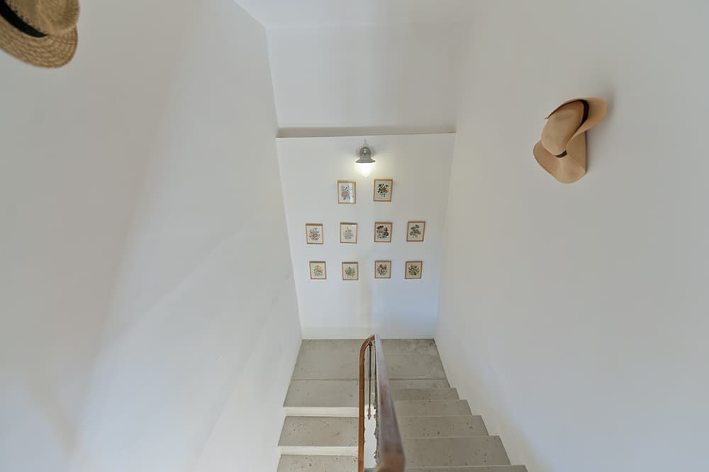 Staircase in Languedoc holiday home