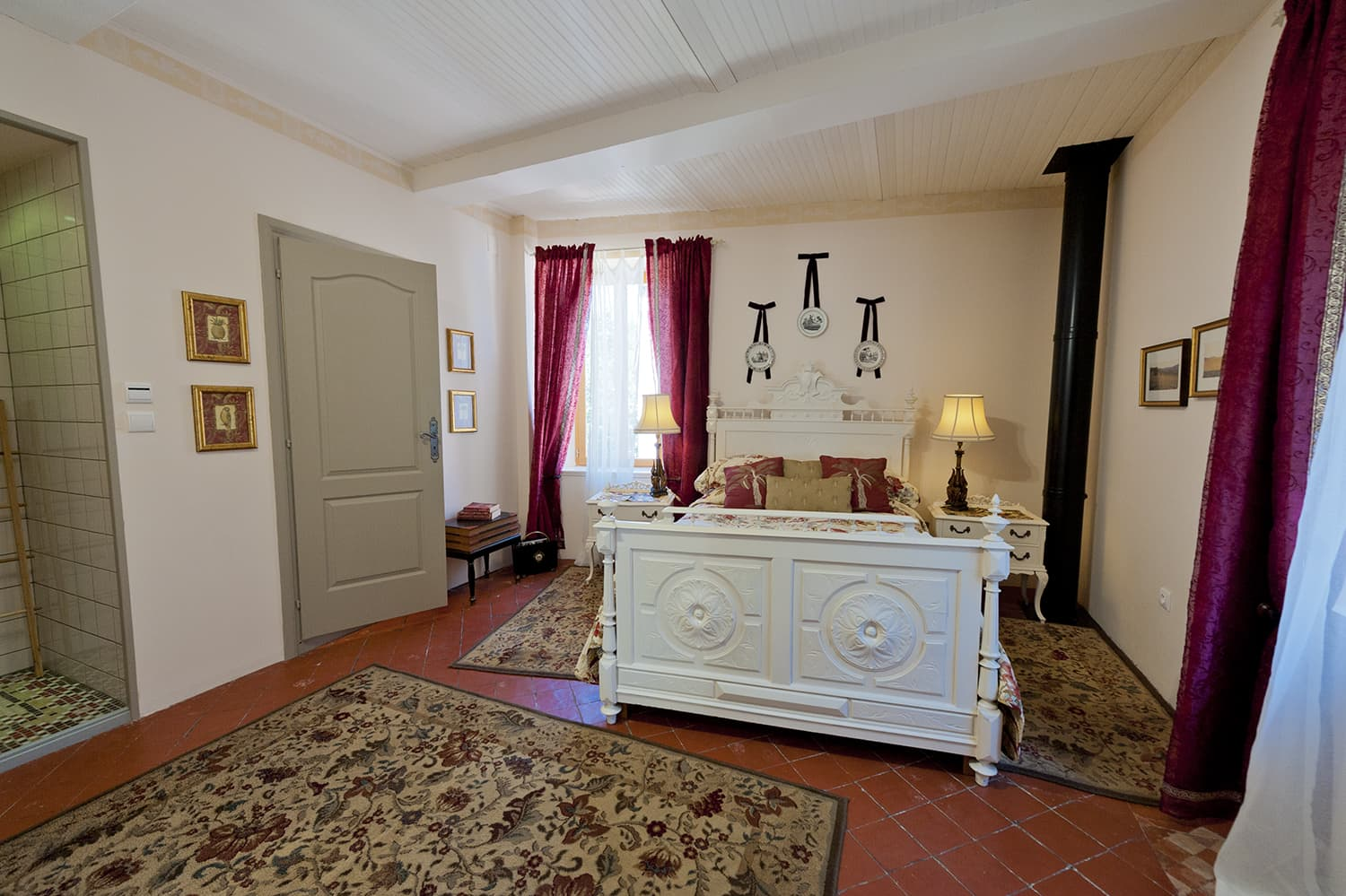 Bedroom in Languedoc holiday home