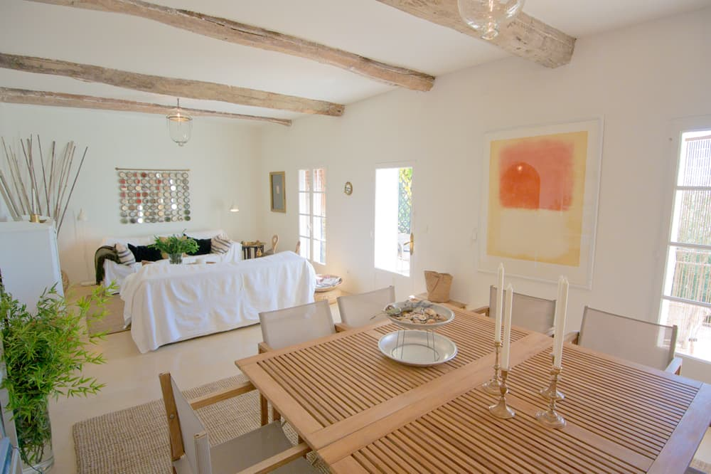 Living room in Languedoc holiday home