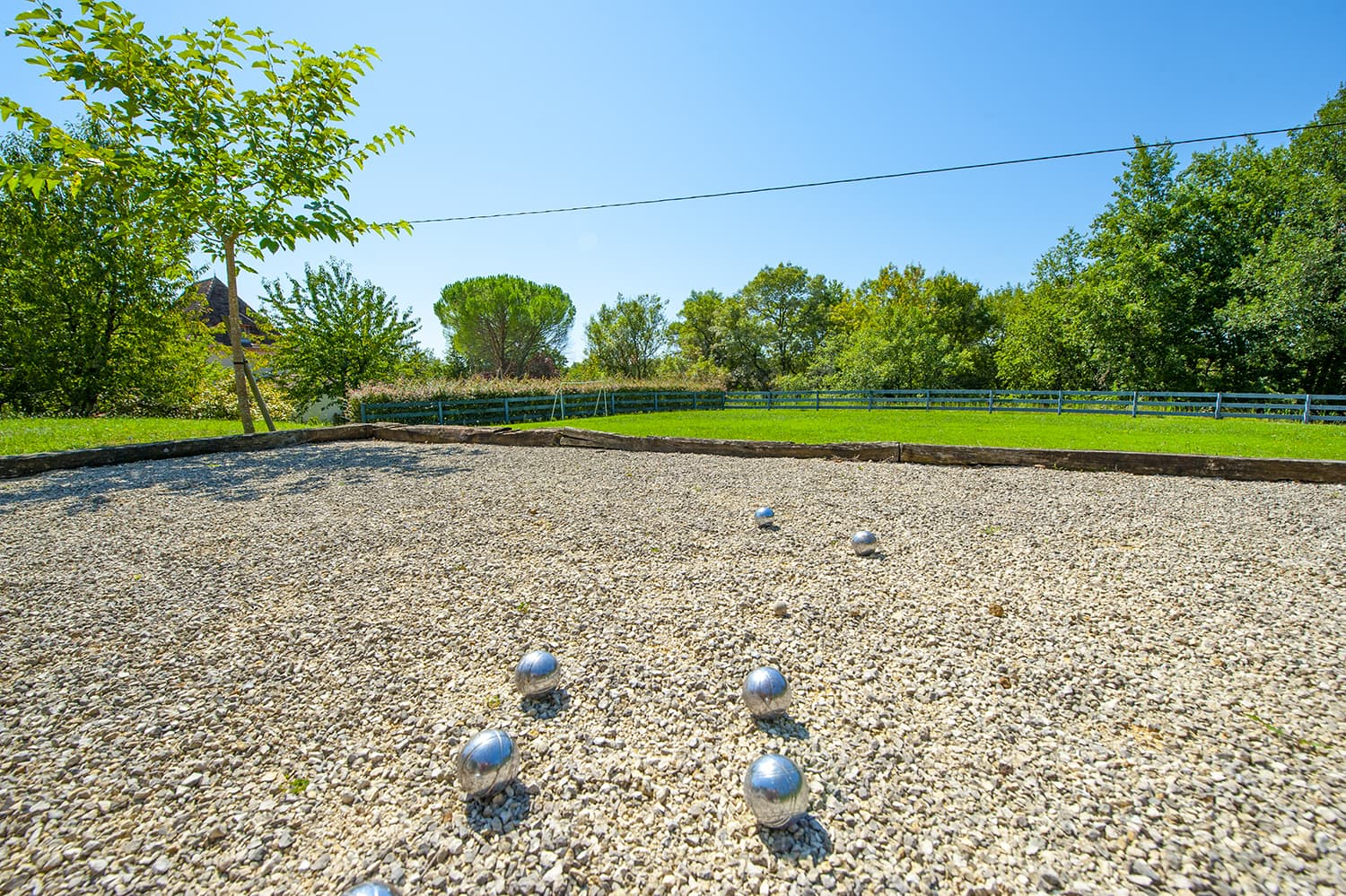 Boules pitch