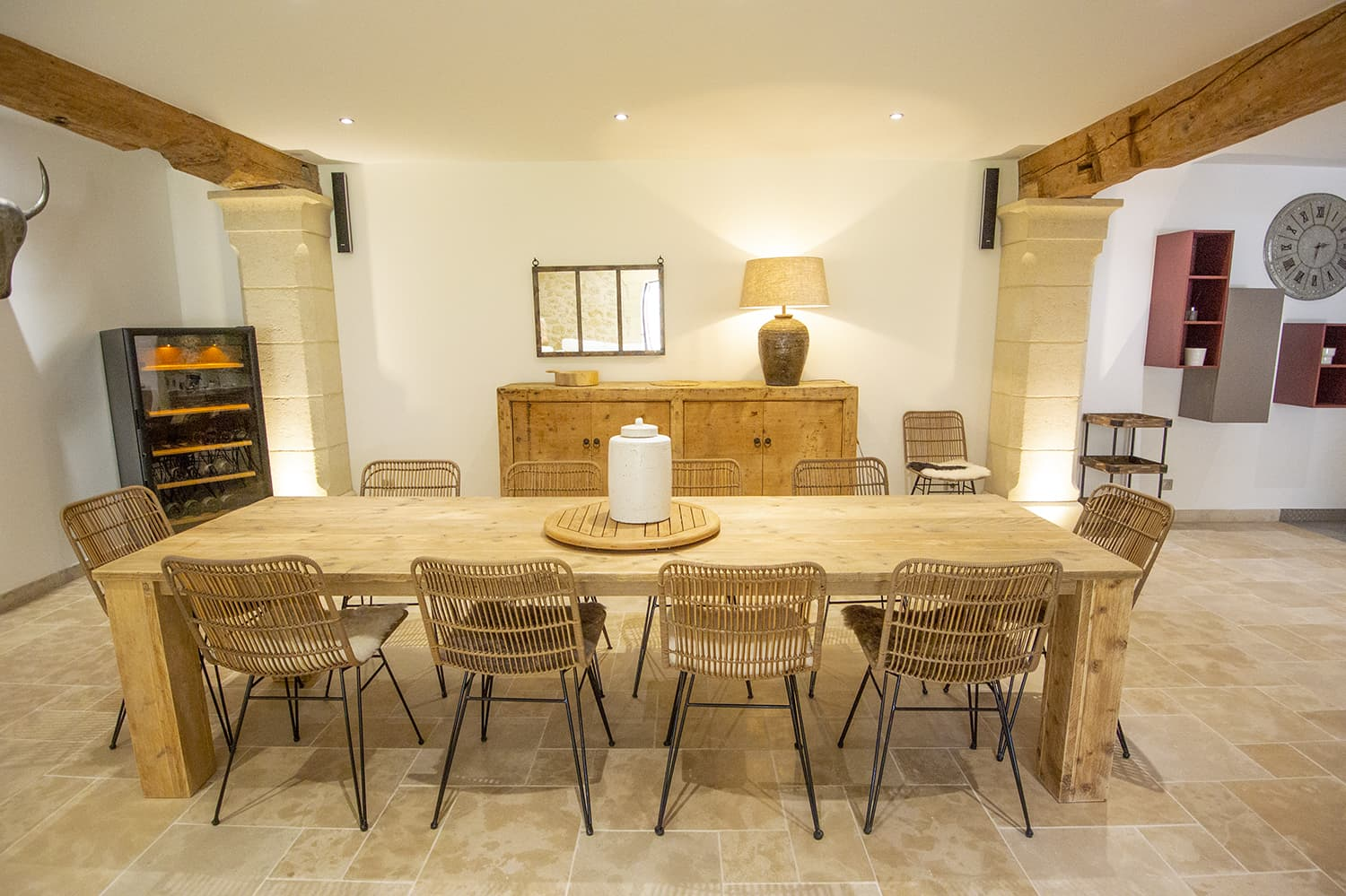 Dining room in Provence-Alpes-Côte d'Azur holiday home