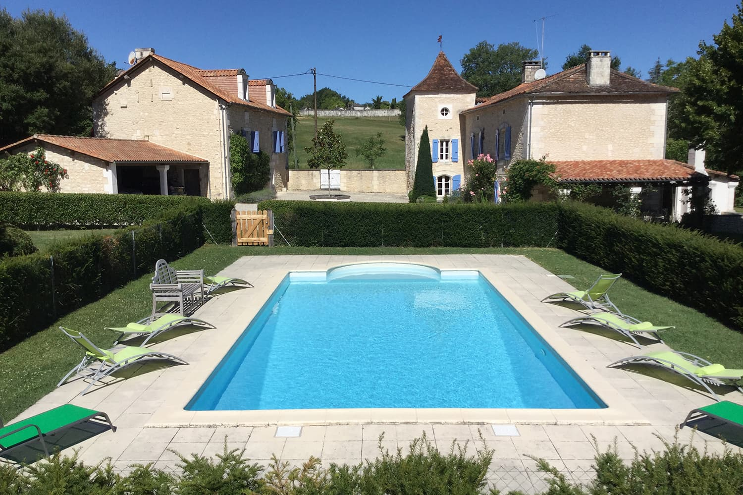 Vacation home in Léguillac-de-Cercles with private pool