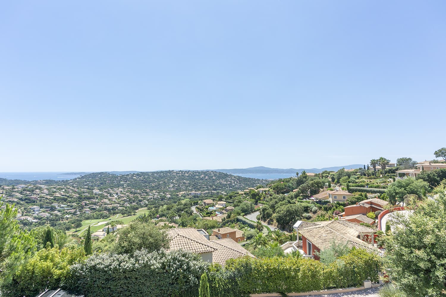 Views over Bay of Saint Tropez