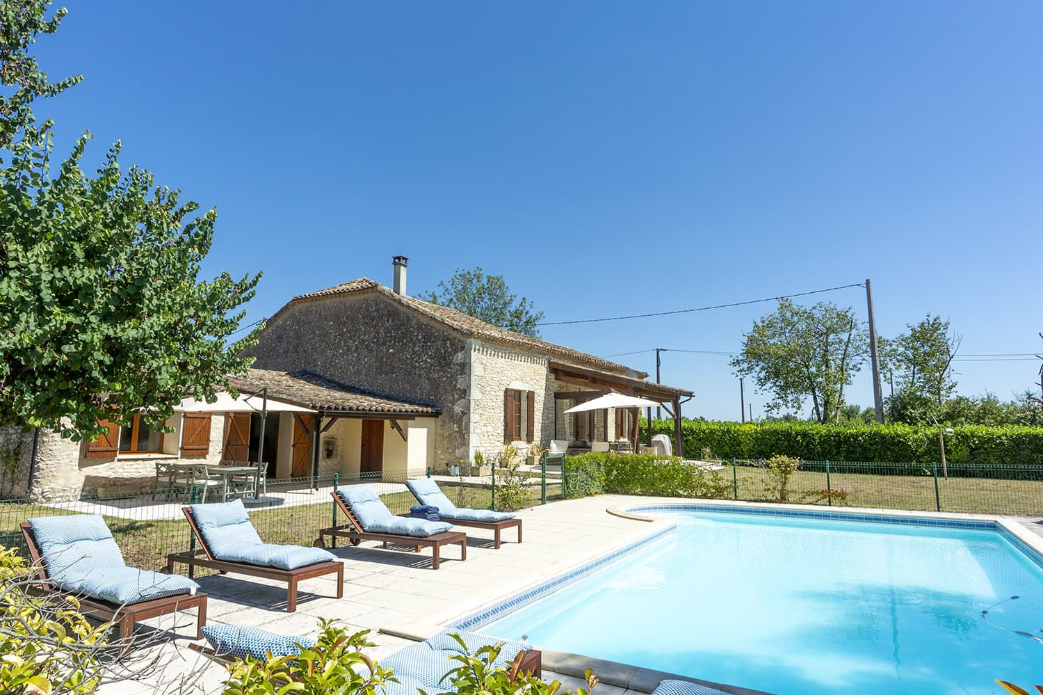Holiday home in Monflanquin, Nouvelle-Aquitaine with private pool