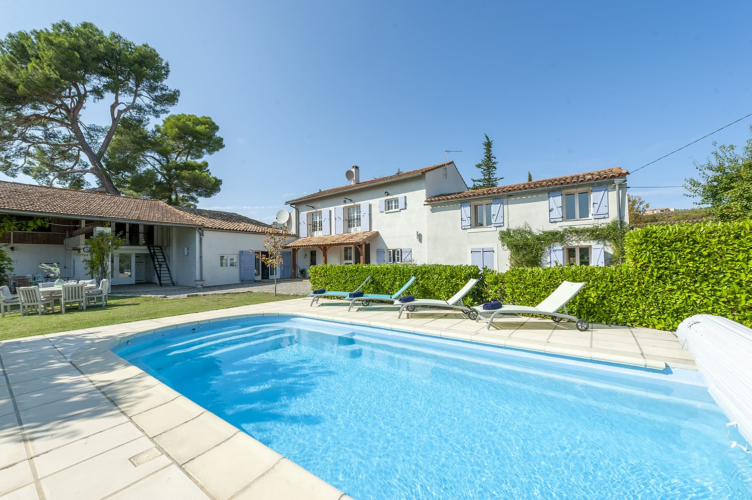 Holiday home near Limoux with private pool