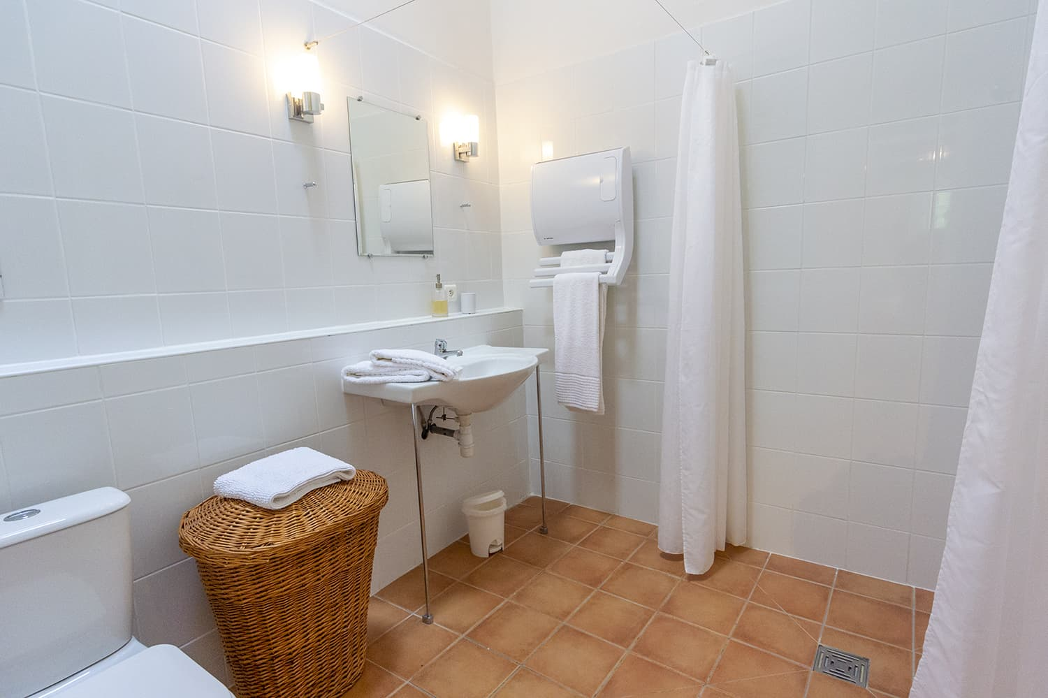 Bathroom in Gers holiday home