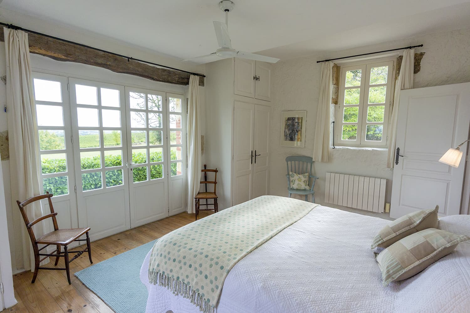 Bedroom in Gers holiday home