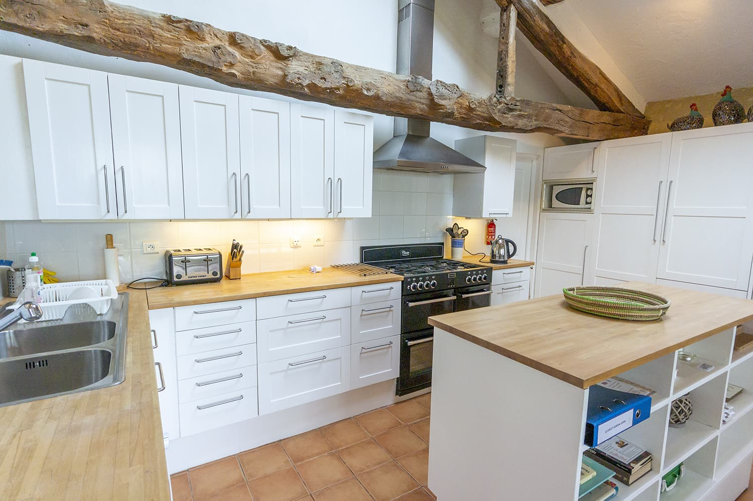 Kitchen in Gers holiday home