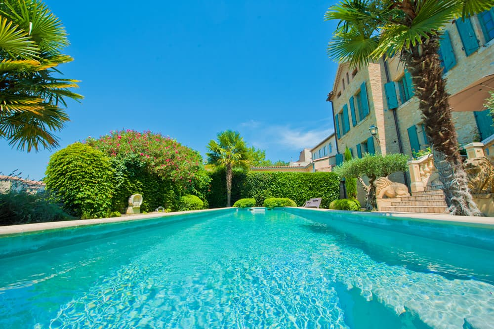 Rental home in Languedoc with private pool