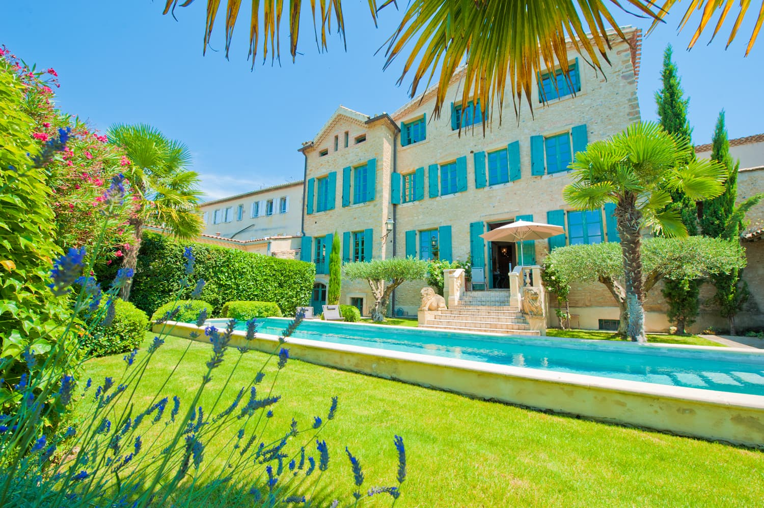 Rental home in Languedoc with private pool and garden