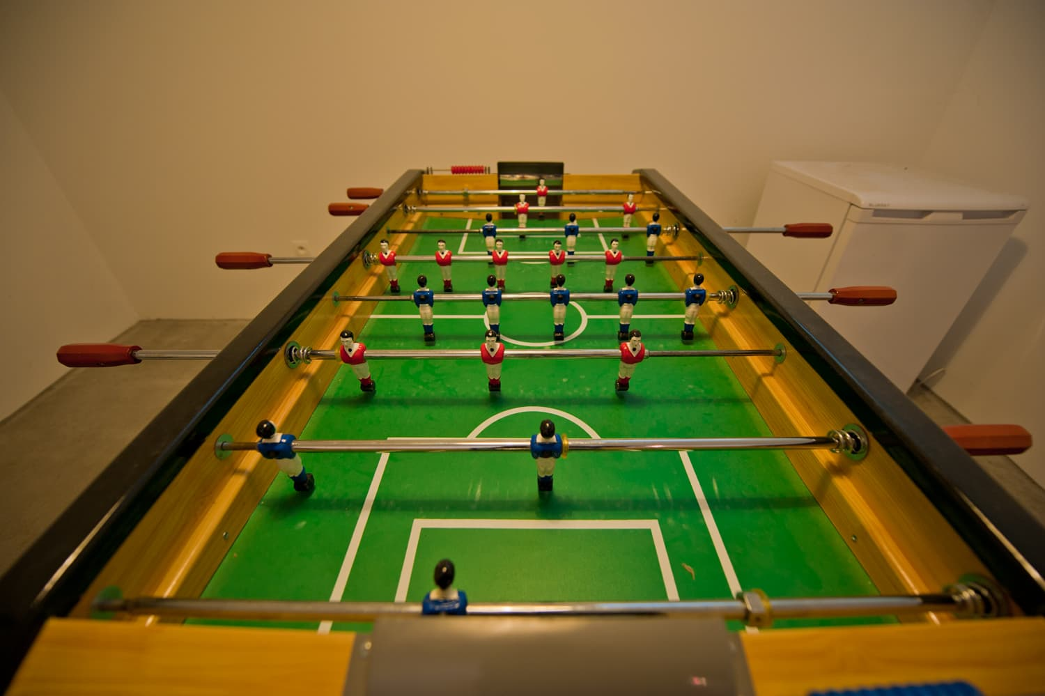 Table football in Languedoc rental home