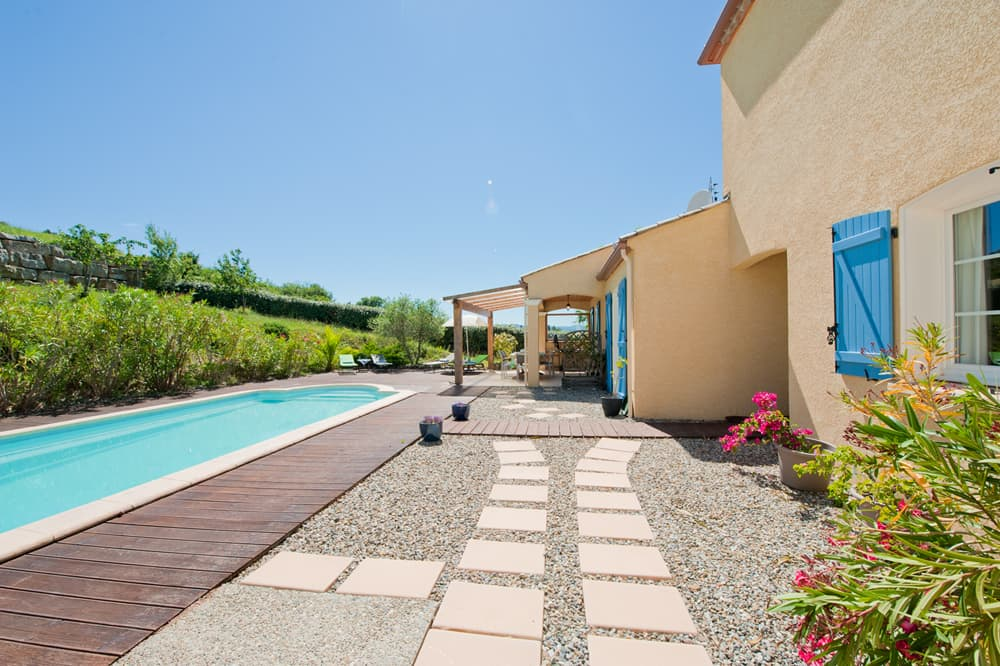 Holiday villa in Languedoc with private pool