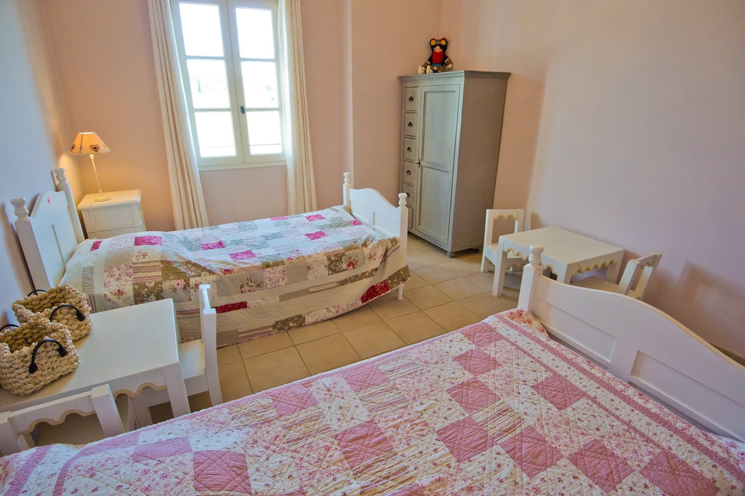 Bedroom in Provence holiday home