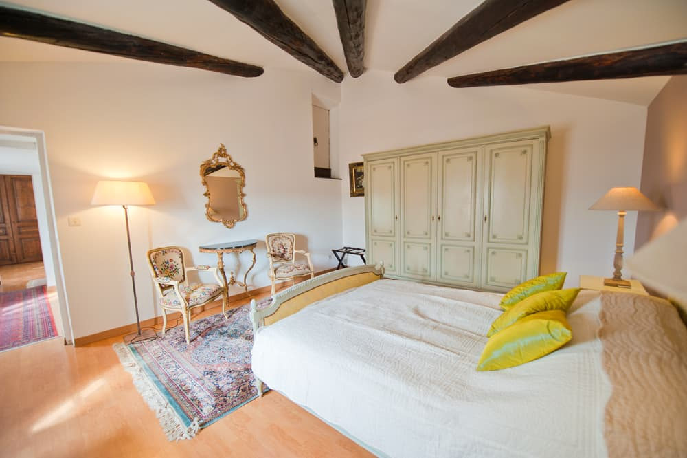 Bedroom in Provence rental accommodation