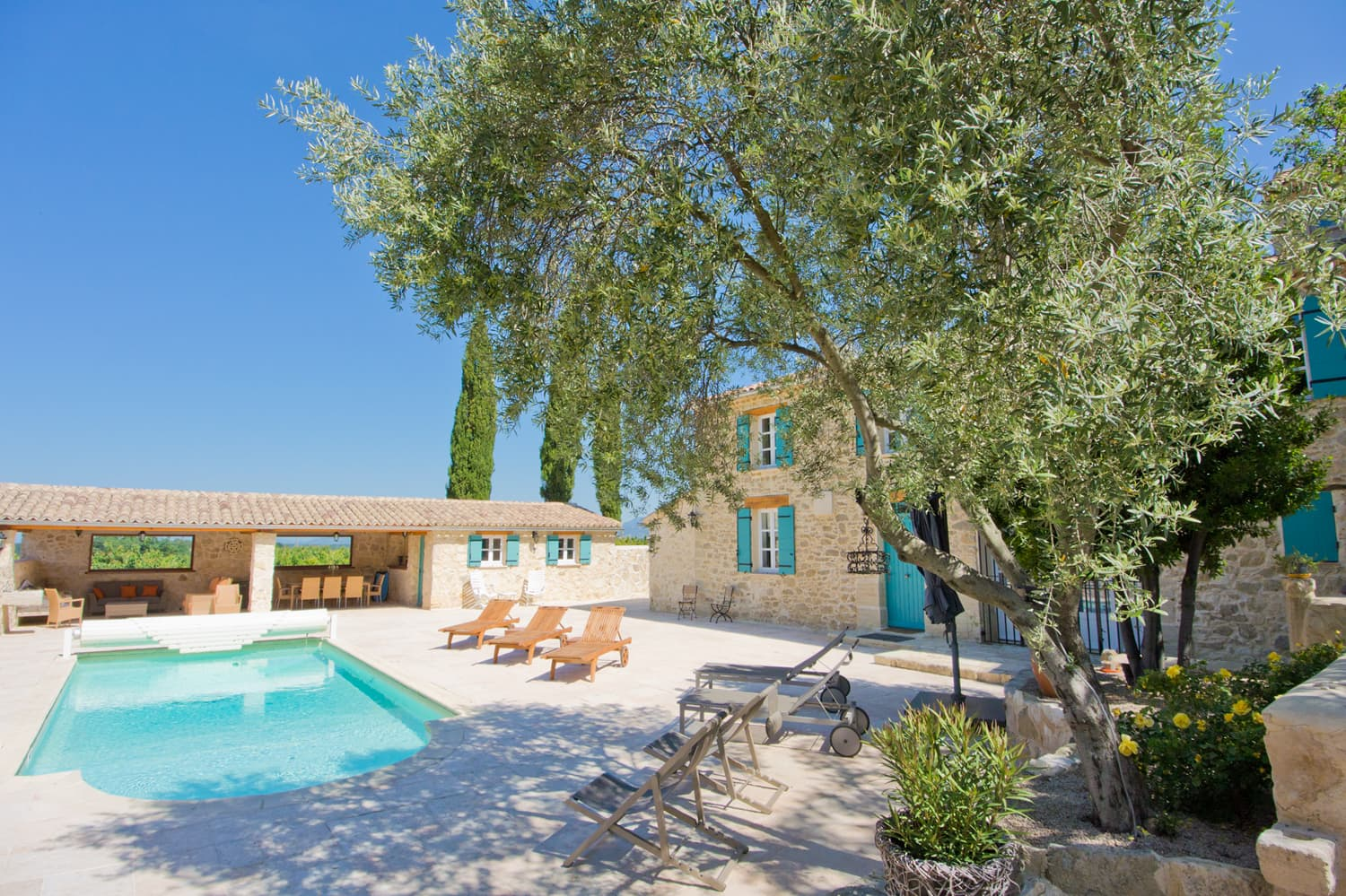 Rental accommodation in Provence with private pool