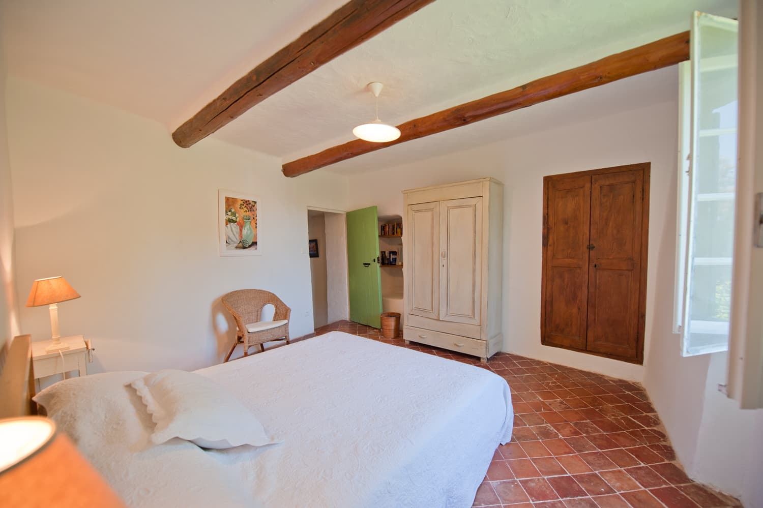 Bedroom in Provence self-catering home